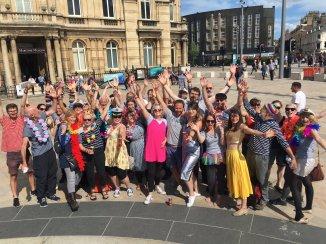 The London Sea Shanty Collective at Hull Pride 2017
